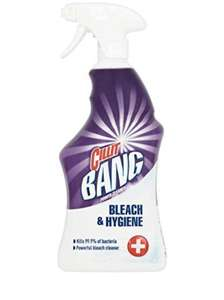 Cillit Bang Bleach and Hygiene Spray Cleaner 750 ml at Amazon for £2 Prime (+£3.49 non Prime)