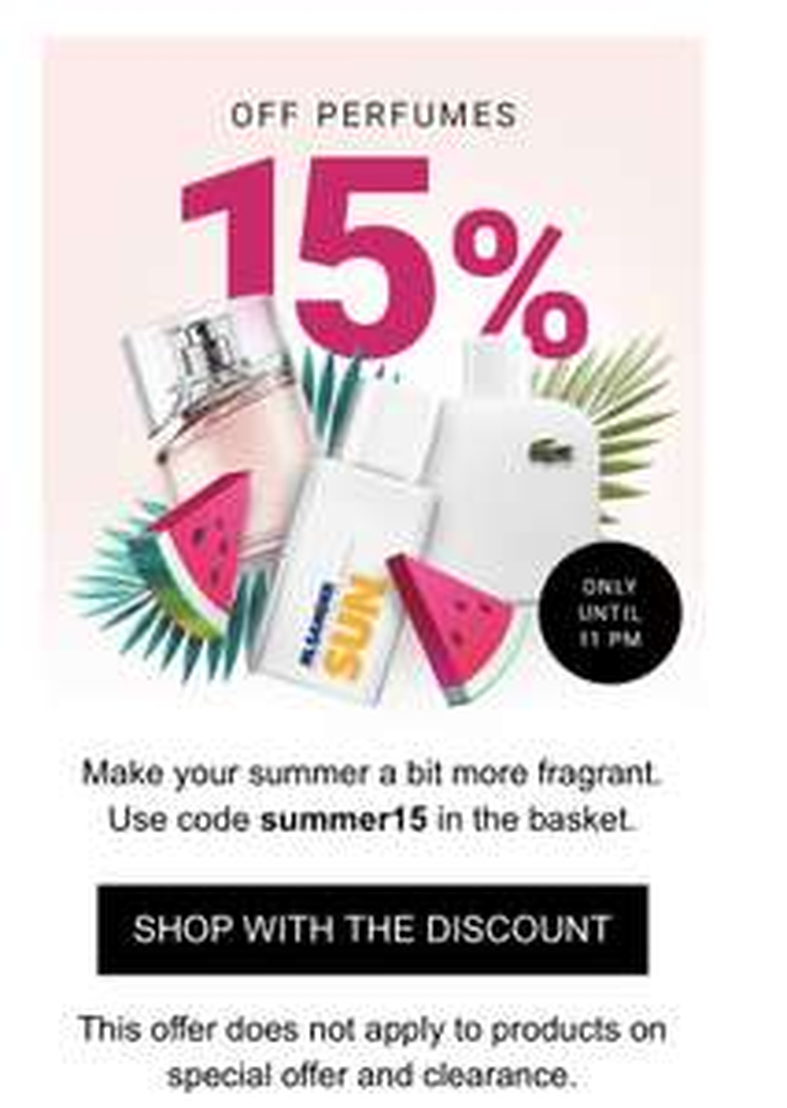 NOTINO 15% Off All Perfumes