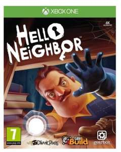 Hello neighbour Xbox one game used £10.52 at Music Magpie