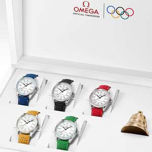 OMEGA Olympic Games Collection Limited Edition Watch Set with bell £19,500 at Berrysjewellers
