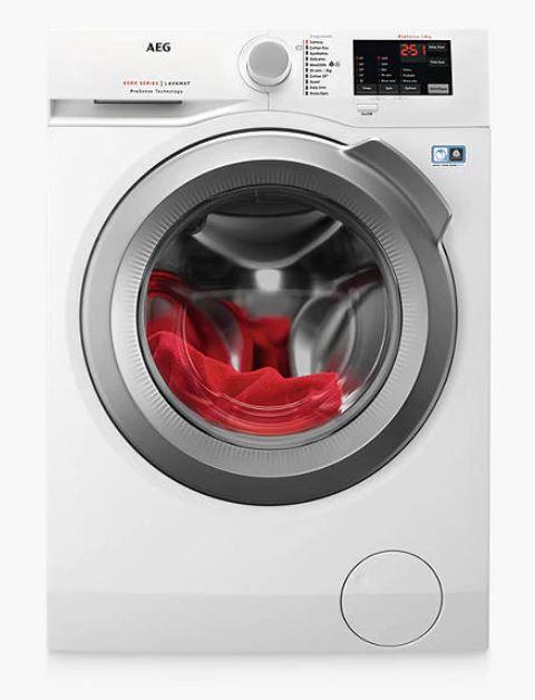 AEG L6FBI842N Freestanding Washing Machine £349 delivered @ John Lewis & Partners