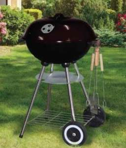 Kettle BBQ starter pack with untensils and cover £19.99 + £3.99 del at TJ Hughes