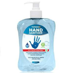 500ml hand sanitizer 75% alcohol £11.99 @ MyMemory