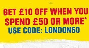£10 off a £50 spend at Toolstation