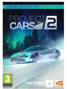 Project Cars 2 Deluxe Edition PC £9.99 @ CD Keys