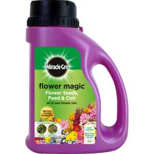 Miracle-Gro Flower Magic Flower Seeds, Feed & Coir (All-In-One Flower Mix) 1kg, £2 @ Poundland (Argyle Street, Glasgow)