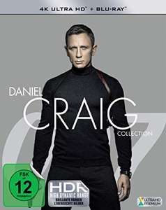 The Daniel Craig Collection 4K Ultra HD + Blu-Rays - £49.02 Delivered @ Amazon Germany