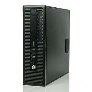 Refurbished HP Prodesk 600 G1 SFF Computer 8GB 500GB 3.2Ghz Windows 10 64 Grade A - Itzoo - £59.99