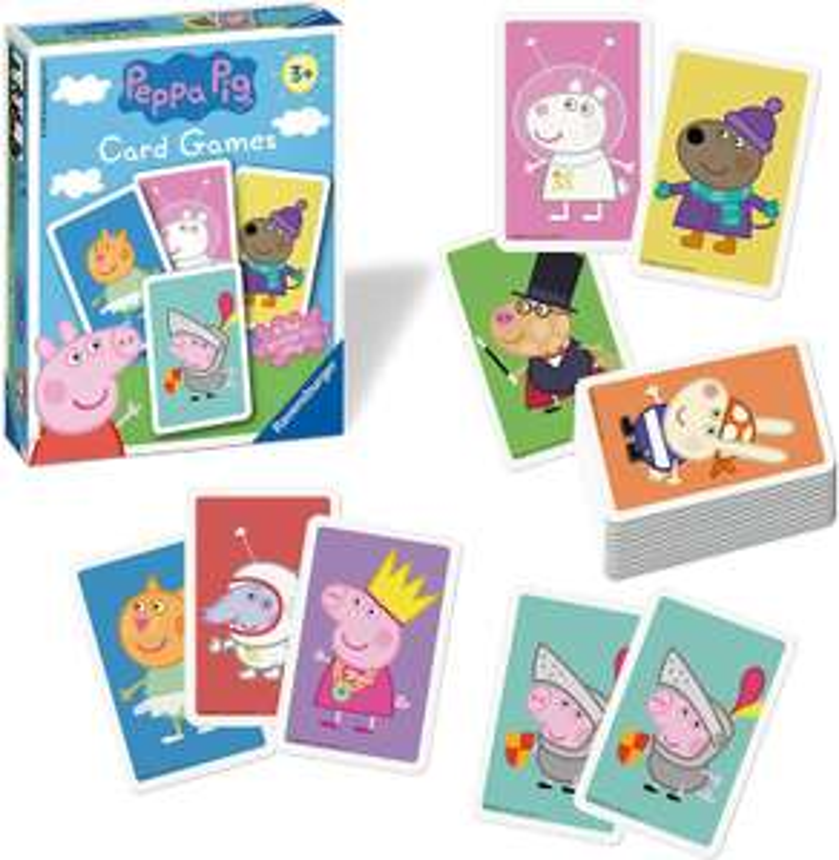 Ravensburger Peppa pig card game £3 prime (£4.49 p&p non prime) @ Amazon
