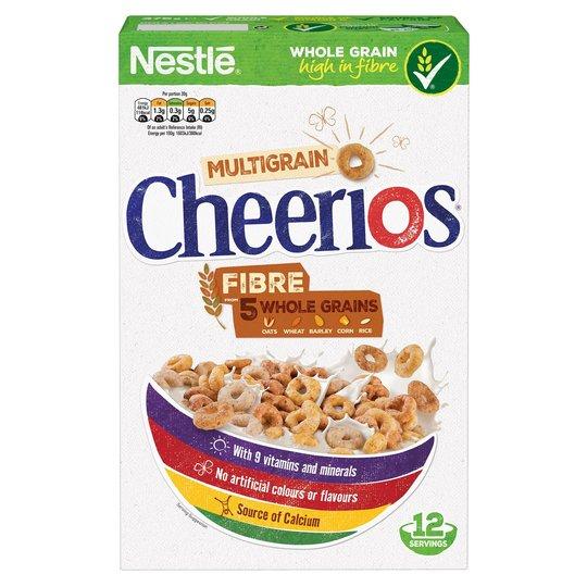 Nestle Cheerios Cereal 375g £1.27 Tesco