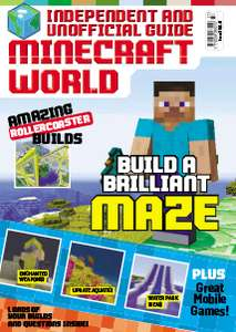 3 issues of Minecraft World delivered for £3 from Magazine Subscriptions