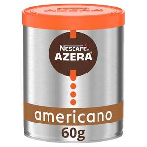 Nescafe Azera Americano 60g - Tesco in store (Milford Haven) - 91p