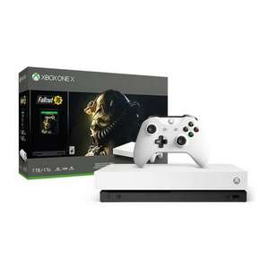 Xbox One X Console Fallout 76 Bundle - £289.47 (£280.07 with fee free card) Delivered @ Amazon Spain