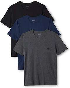 BOSS Men's T-Shirt Rn Co (Pack of 3), Multicolor, £15.48 (+ £4.49 non-prime) Amazon