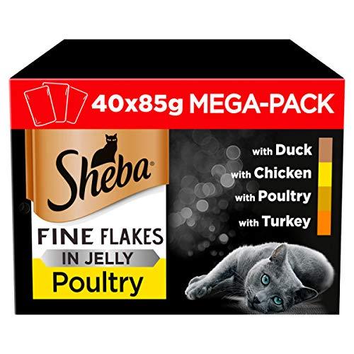 Sheba Poultry Selection Mega Pack (x40) - £10 each, min order 2 = £20 @ Amazon