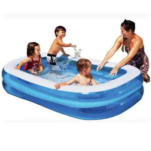 Chad Valley 7ft Rectangular Kids Paddling Pool - 400L £18.00 click & collect @ Argos