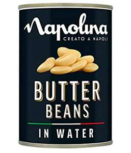 12x Napolina Butter Beans 400g Only £4.50 @ Amazon Pantry (£15 min spend / Free delivery with code)