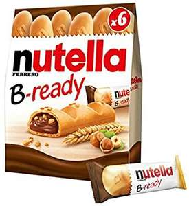 Nutella b ready pack of 6 - £1 @ Amazon pantry (min £15 spend,free delivery with code)