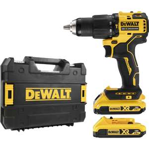 DeWalt DCD709D2T 18V XR Brushless Compact Combi Drill Driver 2 x 2.0Ah - £119.98 with code @ Toolstation