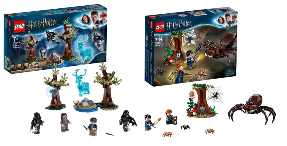 LEGO Harry Potter 75945 Expecto Patronum & 75950 Aragog's Lair - £11.99 @ Lidl (Beccles)