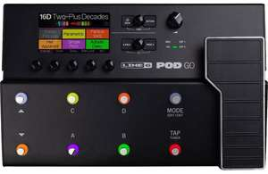 Line6 Pod Go Multi Effects Guitar Pedal - £379.05 With voucher at musicstreet