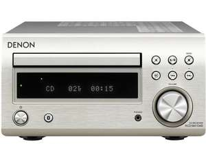 Manufacturer refurbished Denon DM41DAB Micro DAB CD FM System Silver DM-41DAB £159.99 + £16.86 p&p ebay / hyperworld