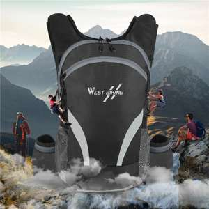 West Biking waterproof 15L backpack with 2.5L water bladder for cycling or climbing for £17.20 delivered @ AliExpress Deals / WEST BIKING
