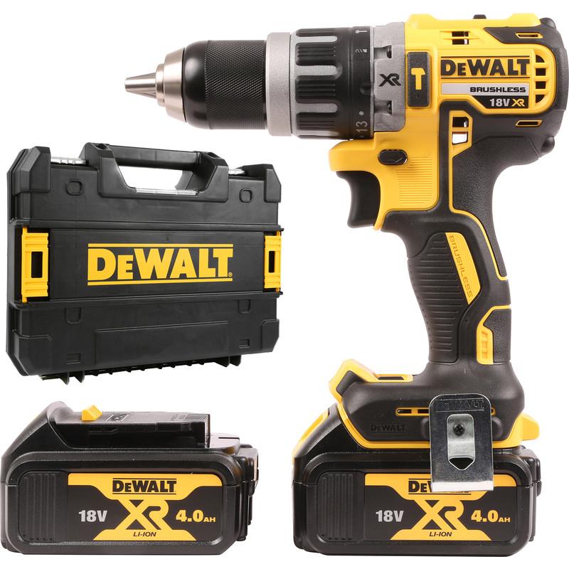 DeWalt DCD796M2-GB 18V Li-Ion Brushless Combi Drill 2 x 4.0Ah £169.98 With Code at Toolstation