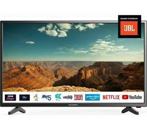 """BLAUPUNKT 40/138Q 40"""" Smart LED TV Freeview Play WiFi DTS TruSurround, £189.05 with code at Currys/ebay"""