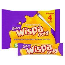 Wispa Gold 4 x41g £1 at Tesco