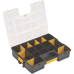 Stanley Sort Master organiser (Click & Collect) £7.49 @ Screwfix