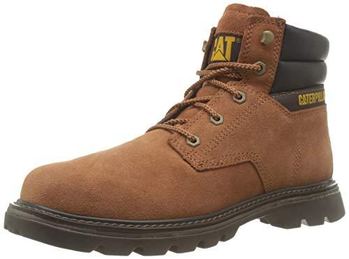 Caterpillar Men's Quadrate Classic Boots in Orange Ginger Ginger, size 11, £27.47 Amazon