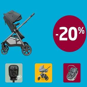 20% off on all Maxi-Cosi products at Maxi-Cosi - £3.95 delivery / free over £50