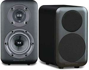 Wharfedale D320 Bookshelf Speakers Black - £99 @ Dispatched & Sold By Digitalis Direct Amazon