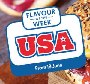 USA Flavours week (Ben and Jerry 465mls £2.49 / Sweet Baby Rays BBQ Sauce £1.99 / Fluff £1.49 + More) in store @ LIDL