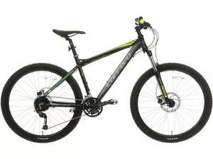Carrera Vulcan Mens Mountain Bike Black - S, M, L Frames £375 at Halfords - free Bike Built and Collected In-store / £25 delivery