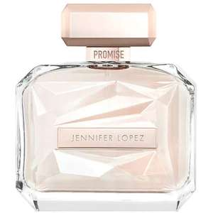 Jennifer Lopez Promise for women 100 ml with free weekend bag delivered with code for £38.70 at The Perfume Shop