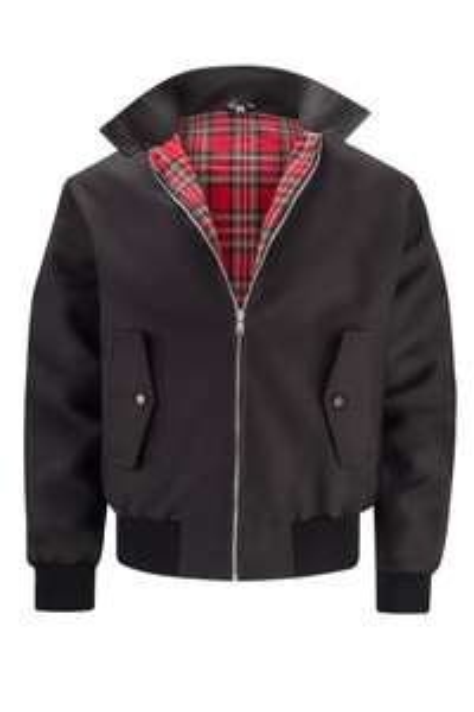 Mens Classic Harrington Jacket - Black, sizes XS-5XL - £24.99 / £27.98 delivered @ Harrington Jacket Store