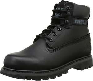Men's black Caterpillar Colorado boots. from £14.25 for size 15 / £29.40 Size 11 Wide (+£4.49 under £20 for non prime) @ Amazon