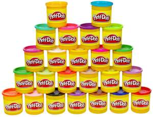 Hasbro Playdoh tubs (Pack of 24) - £11.67 (+ £4.49 non Prime) at Amazon