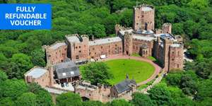 Cheshire castle stay (Peckforton Castle) inc. breakfast & dinner £115 p/couple (100% refund if you don't go) Dates from Mid July @ TravelZoo