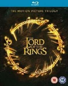 The Lord of the Rings Trilogy Blu-Ray (used) £3.89 delivered @ musicmagpie ebay