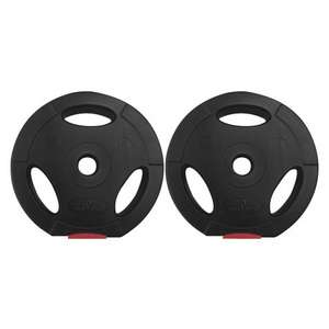Body Power 5Kg Tri Grip Standard Weight Plates (x2) £13.99 +£5.95 delivery @ Fitness Superstore