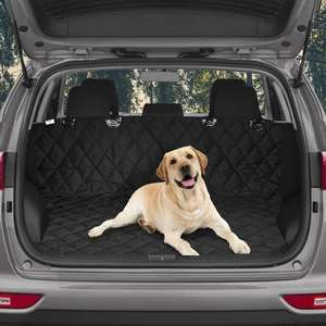 3 In 1 Car Back Seat Cover - keep your car clean & protected £9.99 Free Delivery Using code at Roov
