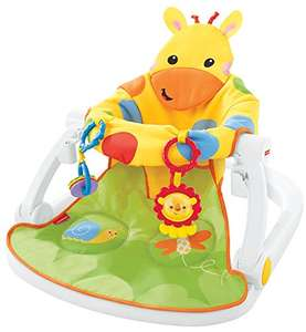 Fisher-Price DJD81 Giraffe Sit-Me-Up Floor Seat, Portable Baby Chair £36.92 at Amazon