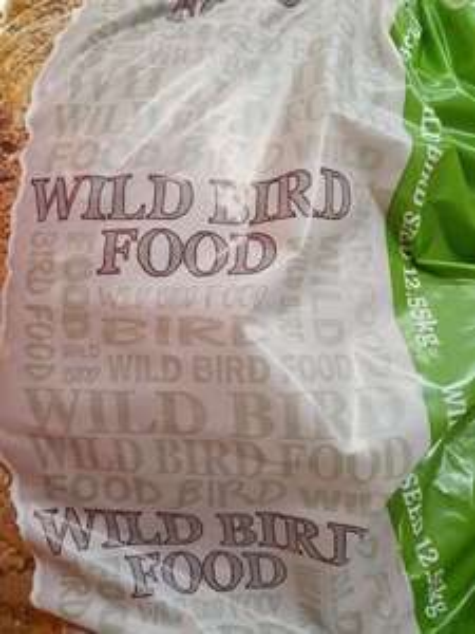 Tesco wild bird seed, 12.55kg, £6 instore @ Tesco (Chelmsford)