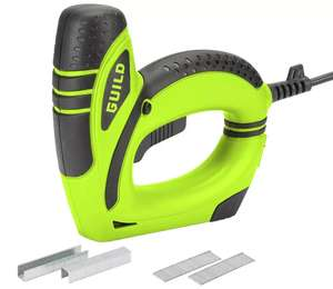 Guild Electric Nail & Staple Gun with 1000 staples + 1000 nails for £15 @ Argos (free click and collect or £3.95 del)