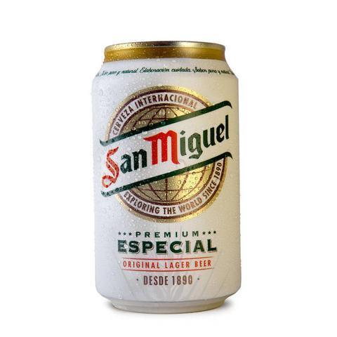 San Miguel Original Premium Lager 5.4% 8 x 33cl cans for £6 (£2.28 p/l) @ Tesco
