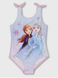 Disney Frozen 2 Pink & Lilac Swimsuit - 1.5-2 years - £2.55 @ Argos + free Click and Collect