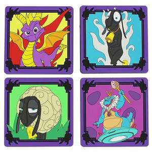 Official Spyro the Dragon (4 Pack) Coasters - £4.99 - Geekstore
